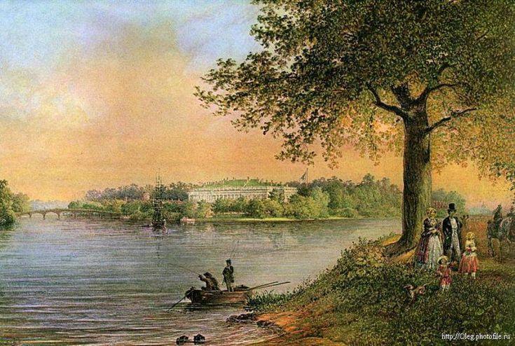 В 1765 году Екатерина II подарила Каменный остров своему сыну Павлу Петровичу. Строительство Каменноостровского дворца началось весной 1776 года по проекту неизвестного автора на месте деревянного дворца А.П. Бестужева-Рюмина, бывшего владельца острова.