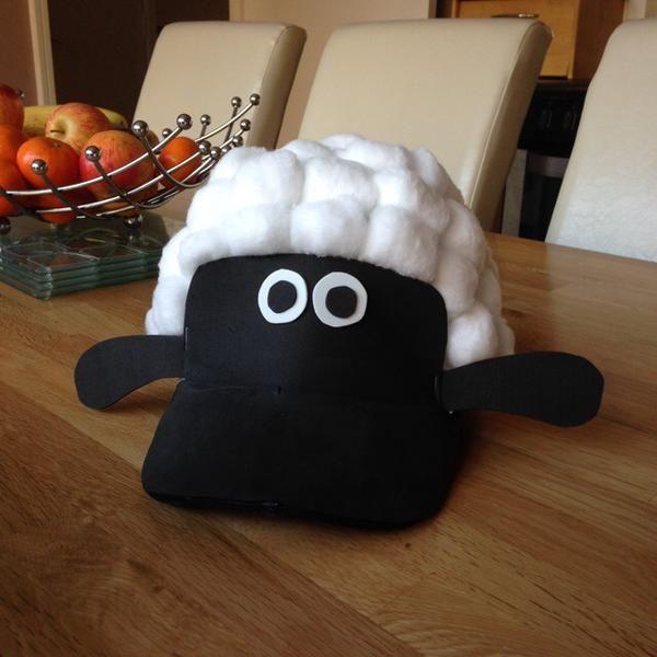 Shaun easter bonnet created by dreemcatcher100 on Twitter!