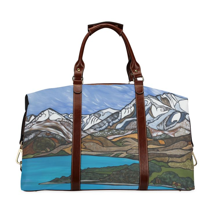 Lake Whakatipu Classic Travel Bag (Model 1643) Remake