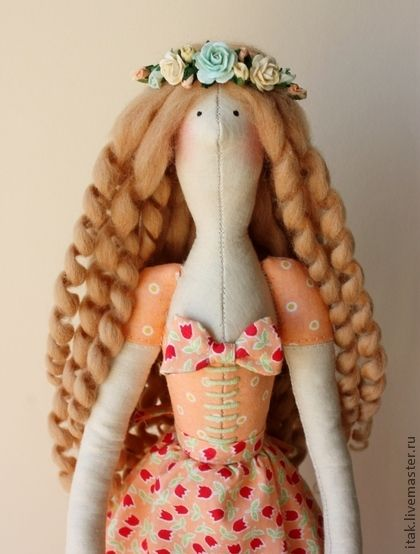 Tilda dolls handmade. Fair Masters - handmade Tilda Monica with chickens. Handmade.