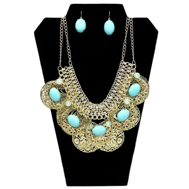 Necesitas un accesorio para alguna reunión con amigos este fin de semana?   Que te parece este hermoso collar Verónica de nuestra tienda conesenciademujer.com