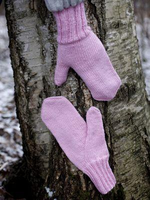 Intialainen kiilapeukalolapanen Novita 7 Veljestä   Novita knits