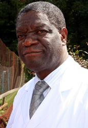 Dr Denis Mukwege a gynaecologist working in The Congo with is Colleagues have treated about 40,000 rape victims, There have been attacks on his life but he continues to raise Awareness for Women.