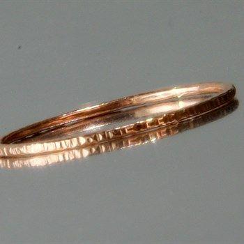 Rosegouden ring, enkele ring, eenvoudige ring - #gift #wanted #wishinglist #verlanglijst #cadeau #kado #boenderpint