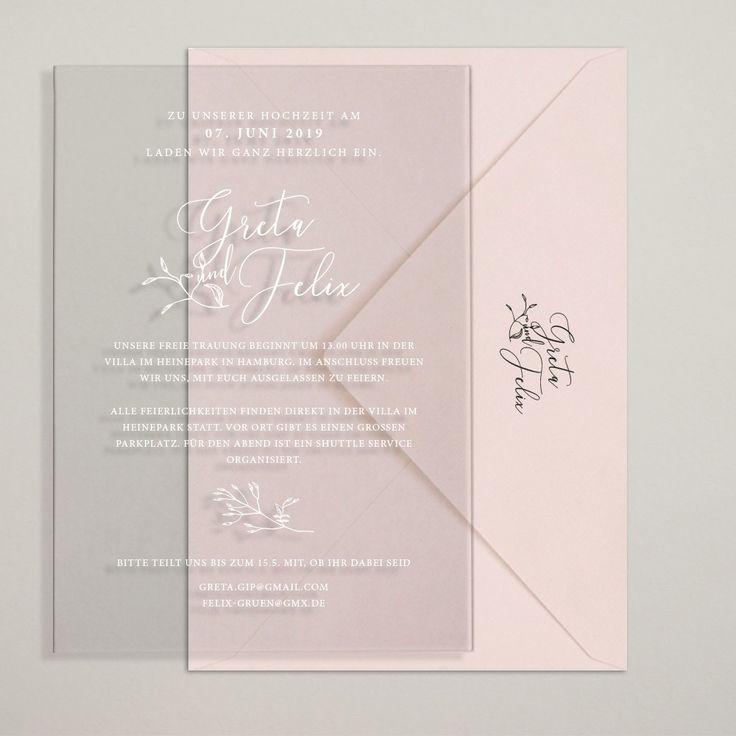 einladungskarten hochzeit acryl