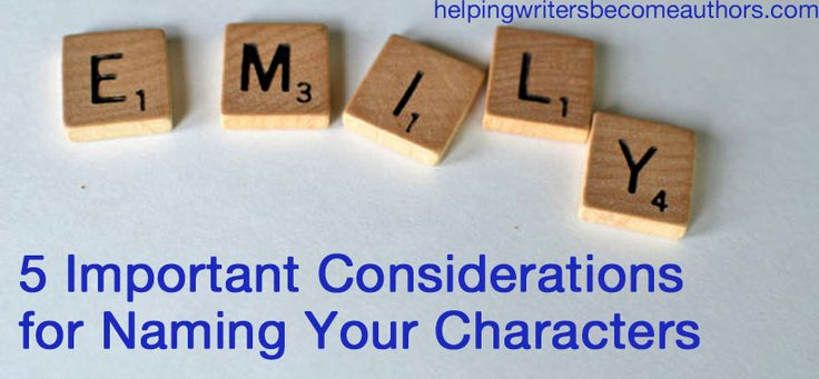 important character or idea 2017-5-3  character generator characters can be the most important part of a short story they don't need to be lovable but readers do need to understand them and why they act the way they do.