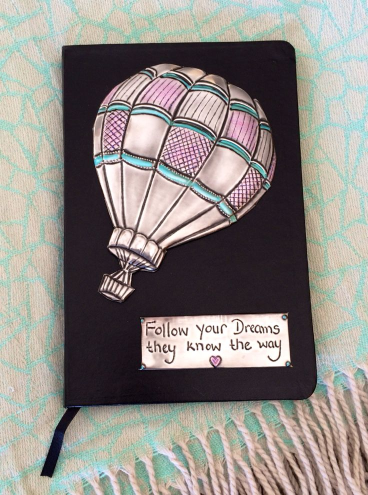 'Follow your dreams they know the way' Made by Lee @ The Pewter Room www.thepewterroom.co.za