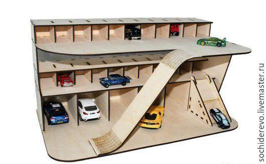 Handgemachte Technik. Bestellen Sie Parkplatz (Garage) für Autos. SOCHIDEREVO. …