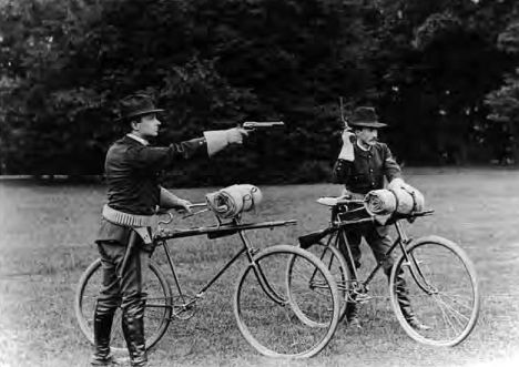 1890s, the U.S. National Guard is also used for bicycle safety