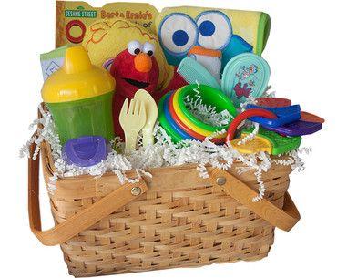 Sesame Street New Baby's Favorite Gift Basket
