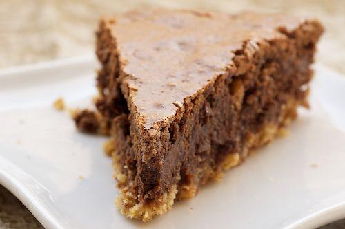 Hazelnut Brownie Tart