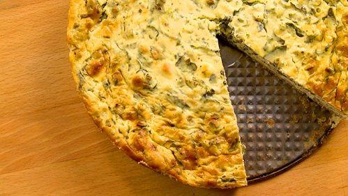Tarte salée aux trois fromages