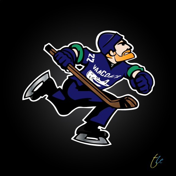Daniel Sedin of the Vancouver Canucks