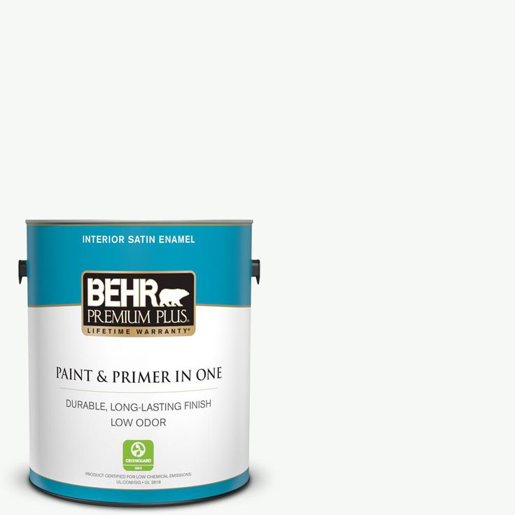 BEHR MARQUEE 5 gal. #PR-W15 Ultra Pure White Flat Exterior Paint and Primer in One
