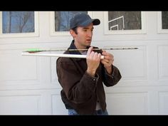 How to make a Very Simple Homemade ATLATL This is a very simple atlatl using some pvc and dental floss pick. It is based off the design used by primitive people before the bow was used for hunting. It was not as powerful as a bow, but it was successful in early hunting. PVC Pipe Projects homemade diy www.specificlove.com