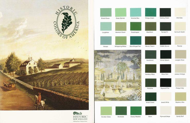 Historic Paint Colors