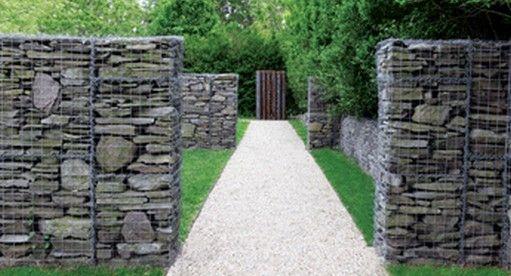 Schist Stone Gabions Schist walls fences and supplies USA