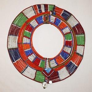 Maasai Tribe Jewelry | African Maasai Masai Beaded Ethnic Tribal Collar Necklace Jewelry ...