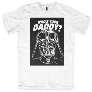 Who's your daddy ? Star Wars Darth Fener ALLINCLUSIVE APPAREL BOYS T-SHIRT
