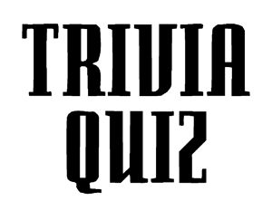 Love this for the first day of  a new semester! Trivia Quiz-A high school ice-breaker