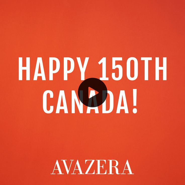 Happy Canada D'eh! Celebrate Canada's 150th your way with an Avazera customized mix n' match bundle. Choose any four of our large feel-good products for only $60.   Limited time offer. Valid until July 16th, 2017. Orders over $49 qualify for free shipping!