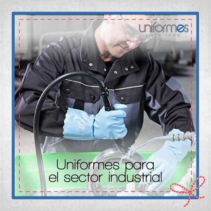 Tenemos todo lo necesario para hacer un uniforme seguro y hecho a la medida. #UniformesParaTodo #Industrial #Personalizar www.uniformesparatodo.com