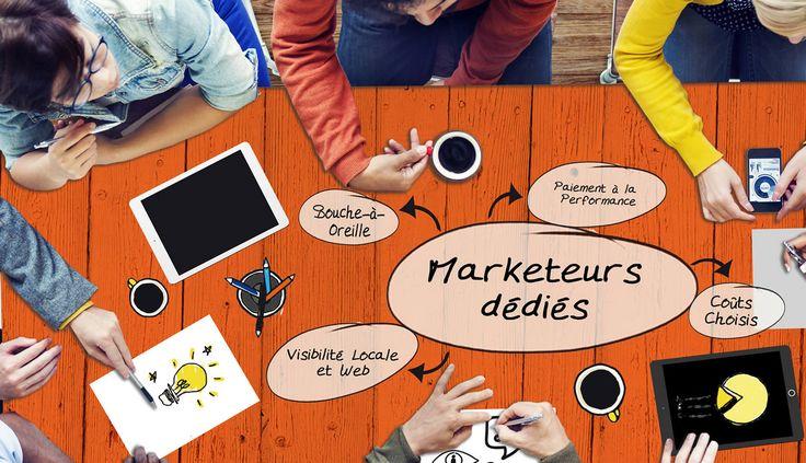 CERCLE VIP, Publicité locale et marketing dédié.  nous démarchons et dynamisons un réseau de marketeurs pour vous, c'est totalement sur mesure. INCLUS : Nous constituons durant 20h environ, par centre d'appel (fr-FR), sur votre zone de chalandise, un groupe de commerçants, d'artisans, de fournisseurs ... commissionnés à chaque apport de vente. Nous cherchons des partenariats influents sur les réseaux sociaux facebook. twitter, instagram, snapchat, pinterest ... sur les chaines vidéo youtube…