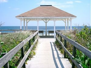 Gazebo In Front Of The Breakers Hotel Spring Lake Nj We Loved To Sit There It Is Also Famous For Wedding Photos Being Taken Held At