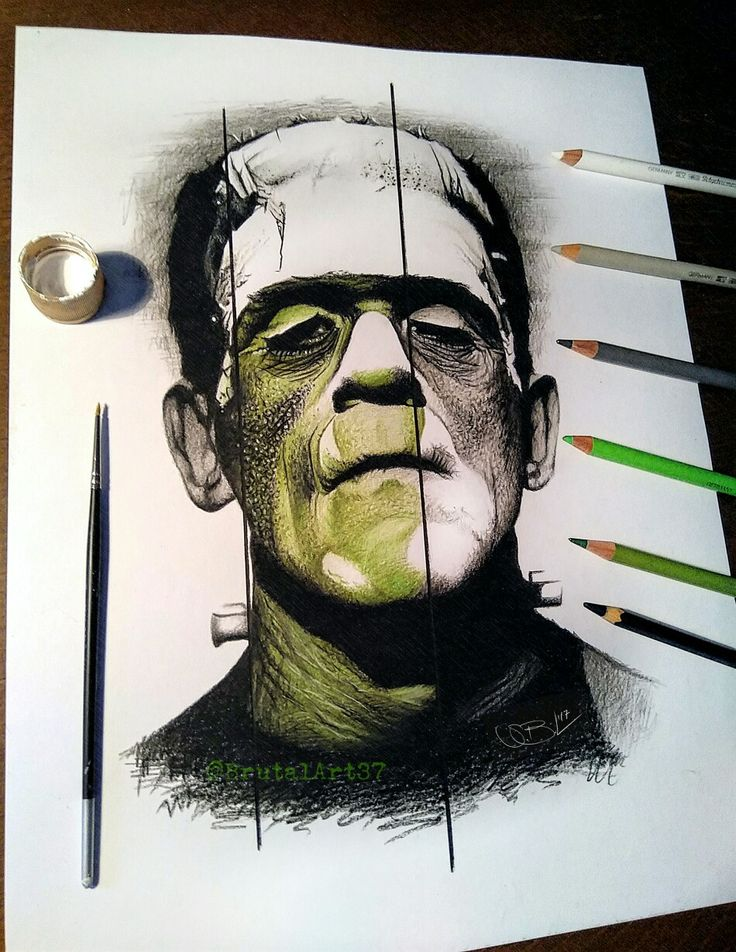 Frankenstein Drawing....