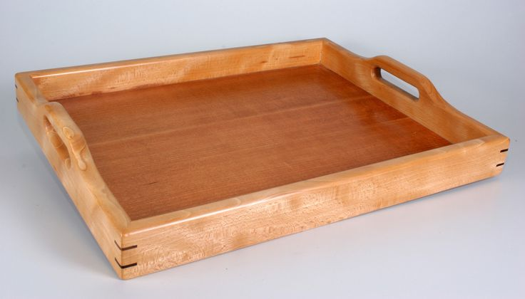 Traditional Serving Tray | Wood Tray | Bar Tray |Breakfast Tray by whimwood on Etsy