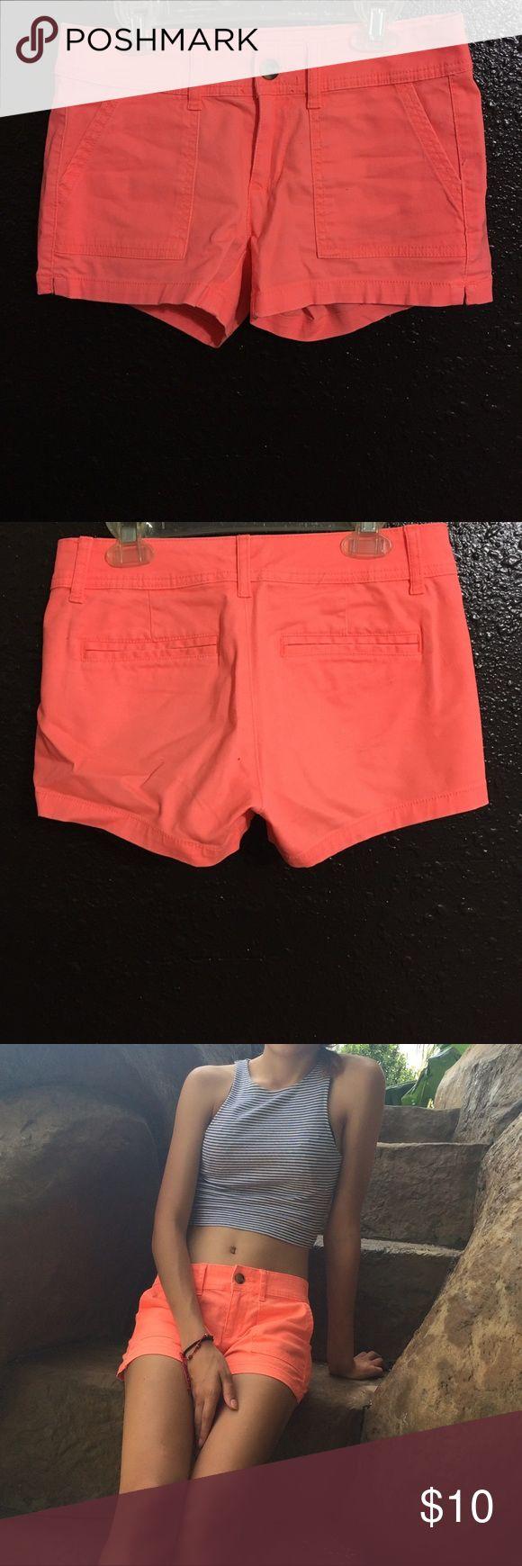 Arizona neon shorts Cute Arizona shorts are really comfy and eye popping. Used it once then I gained weight🤷♀️ Arizona Jean Company Shorts