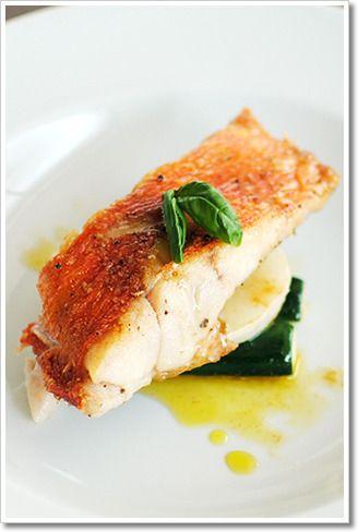 金目鯛のソテーに蕪とズッキーニを添えて by レシピとイタリア食材の ...