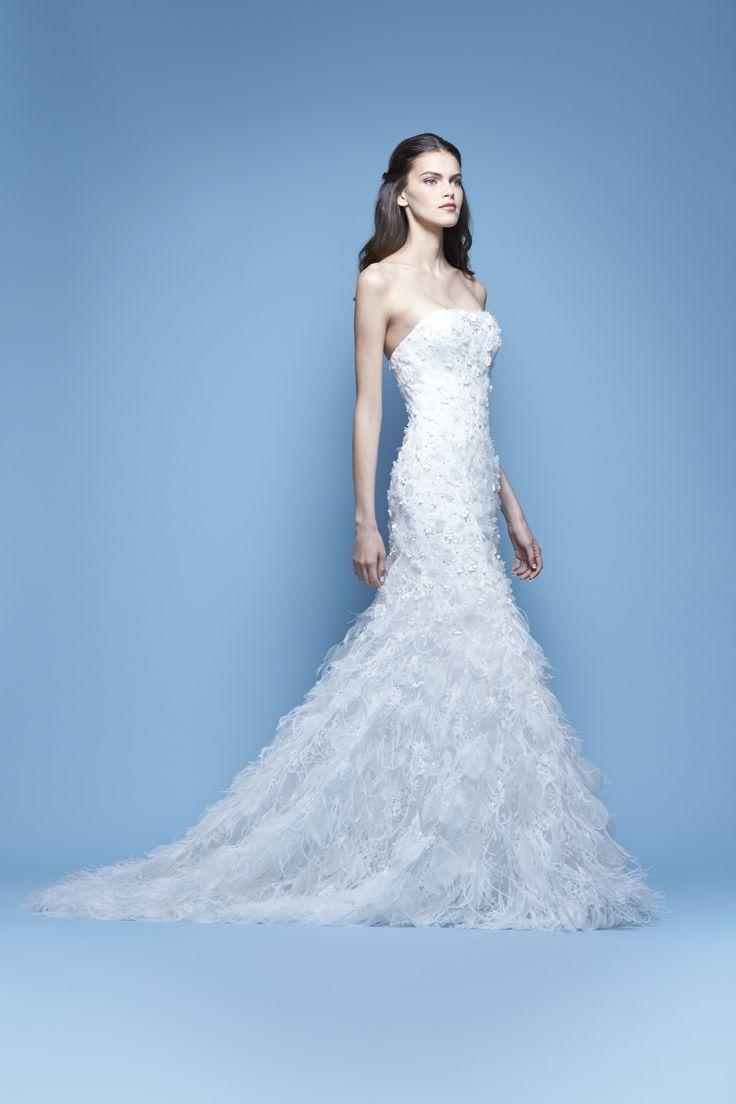 Carolina herrera spring 2016 bridal collection for Colorado springs wedding dresses