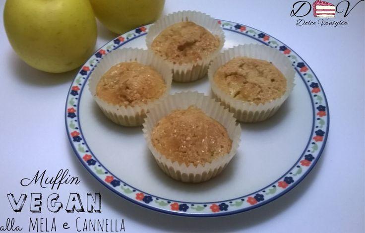 Muffin vegan alla mela e cannella