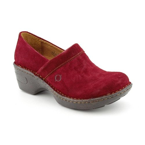 Born Womens Toby Red Corduroy – 6 B(M) US « Shoe Adds for