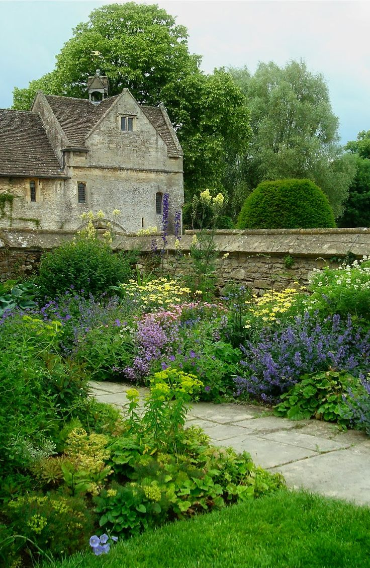 Great Chalfield Manor near Melksham,  Wiltshire - The house is a moated manor house built around 1465–1480 for Thomas Tropenell, a modest member of the landed gentry who made a fortune as a clothier.