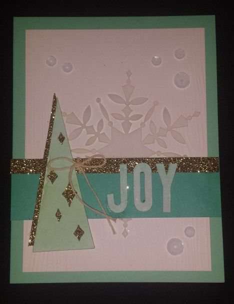 A variation on the Watercolor Winter kit coming out in August!