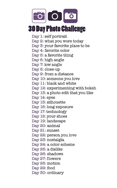 30-Day Photography Challenge