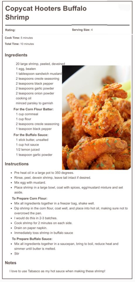 @CreoleContessa's Copycat Hooters Buffalo Shrimp - creolecontessa.com