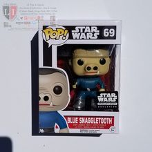 Funko Pop Star Wars #69 Blue Snaggletooth Smugglers Bounty Exclusive 1:5 Chase