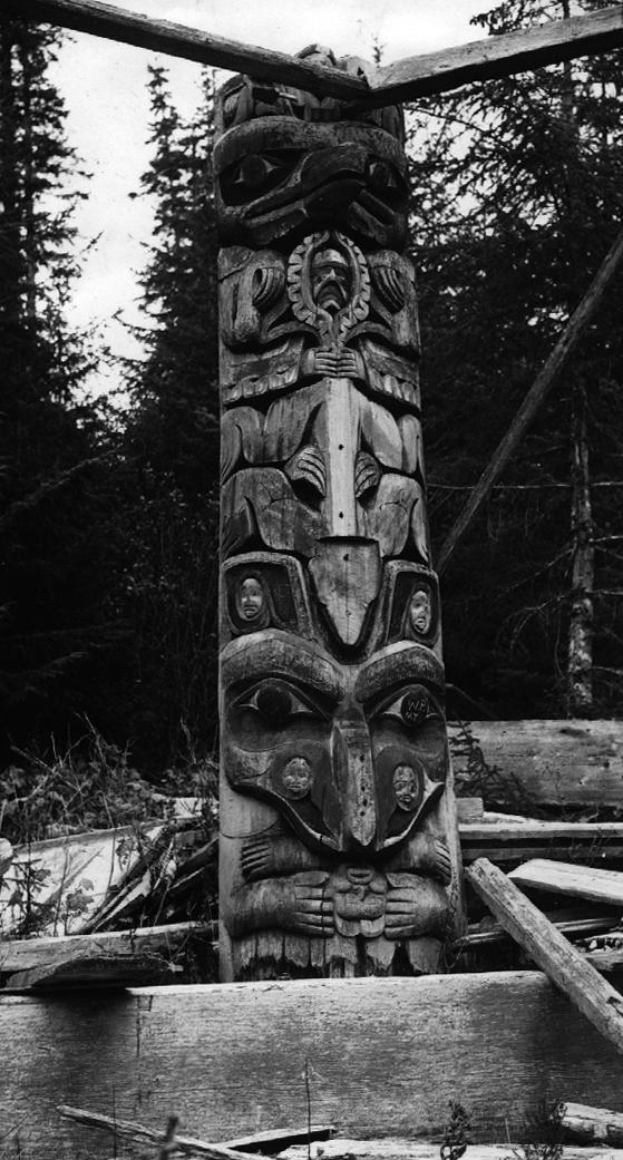 B Ba F F A B C F F Bf Haida Gwaii Inuit Art on Haida Indian Villages In Alaska