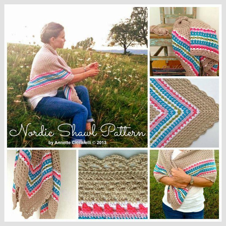 26 besten Crochet Shawls Shoulder Warmers. Bilder auf Pinterest ...