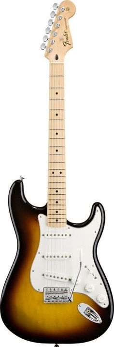 Fender Standard Stratocaster Brown Sunburst Maple #fender #guitar