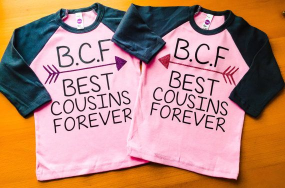 Two Best Cousins Shirts  Toddler Tees  Cousins by creativelyemmi