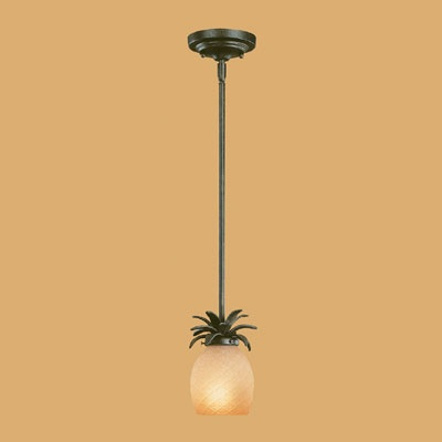 I have 3 of these pineapple pendant lights in my kitchen bar area