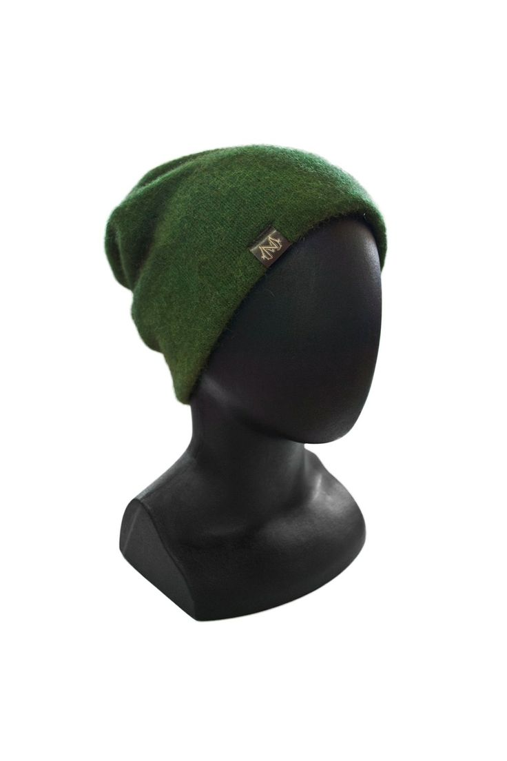 Relaxed fit possum and merino wool beanie - From the softest New Zealand fabrics- Global Culture