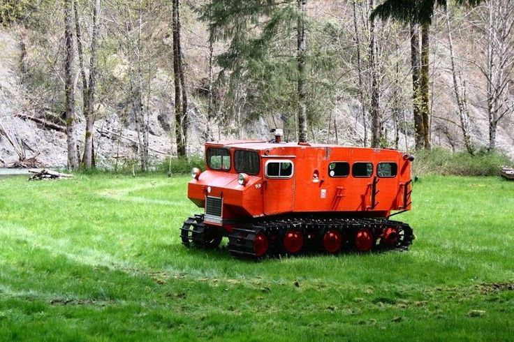 Details about 1961 Other Makes Snowcat Orange Other and