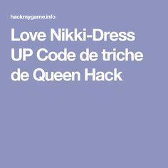 Love Nikki-Dress UP Code de triche de Queen Hack