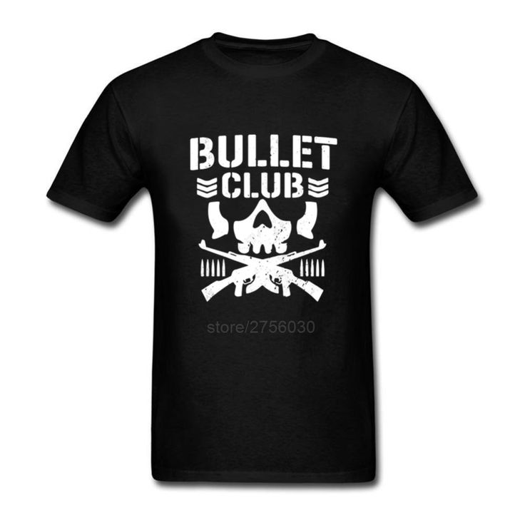 2017 Fashion Bullet Club New Japan Pro Wrestling Mens T Shirt Casual Short Sleeve Shirt Tee Fashion Cotton T-Shirts #Affiliate