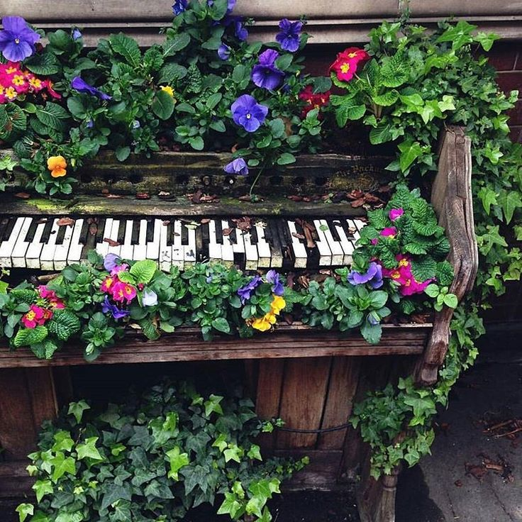 Quirky Backyard Ideas. Best Whimsical Gardens Images On Pinterest ...
